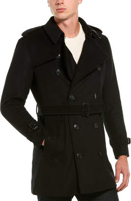 Burberry Wimbledon Wool & Cashmere-Blend Coat