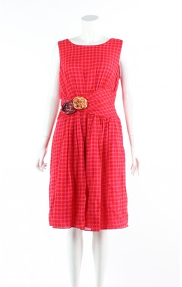 Moschino Cheap & Chic Moschino Cheap And Chic Red Cotton Dress for Women
