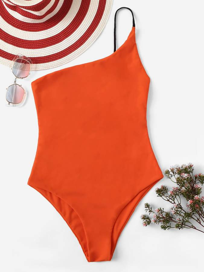 16a577ad68 Shein Orange One Piece Swimsuits - ShopStyle