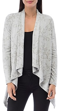 B Collection by Bobeau Amie French Terry Printed Cardigan