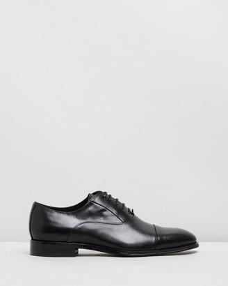Double Oak Mills Marloe Leather Oxfords