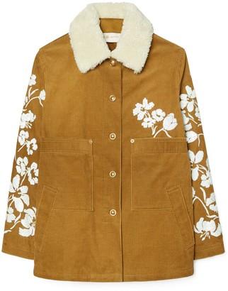 Tory Burch Embellished Barn Jacket