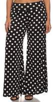 RM Fashions Womens Floral Print Wide Leg Pants Summer Palazzo Trousers (3X-Large, )