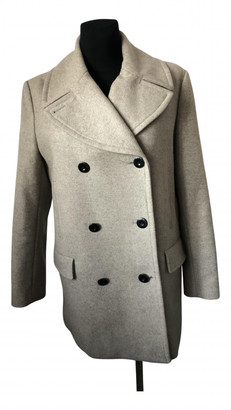 By Malene Birger Beige Wool Coats