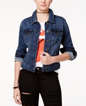 Celebrity Pink Juniors' Classic Denim Jacket