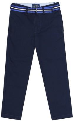 Polo Ralph Lauren Kids Slim stretch-cotton pants