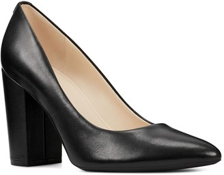 Nine West Alisa Pointed Toe Leather Pump