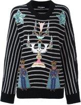 Dolce & Gabbana embellished chandelier jumper