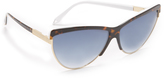 Victoria Beckham Combination Cat Sunglasses