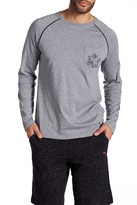 Tommy Bahama Solid Long Sleeve Jersey Tee