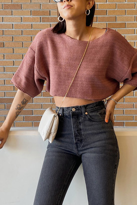 Urban Outfitters Atlantic Dolman Cropped Sweater