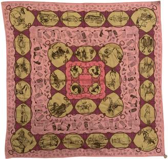 Hermã ̈S HermAs Multicolour Cotton Scarves