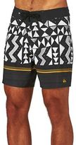 Quiksilver Board Shorts Slab Lapu Vee 17 Inch Board Shorts - Black