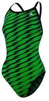 adidas Womens Shockwave Vortex Back Bathing Suit (-)