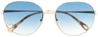 Chloé Aimee round-frame sunglasses
