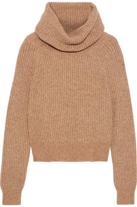 Diane von Furstenberg Pax Ribbed-knit Turtleneck Sweater