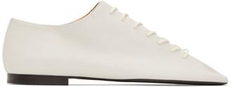 Lemaire White Flat Derbys