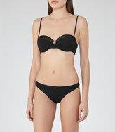 Reiss Mirtha B - Mid-rise Bikini Briefs in Black, Womens