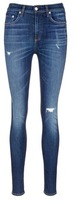 Rag & Bone 'Dive' high waist distressed skinny jeans
