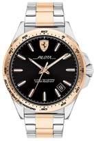 Scuderia Ferrari Ferrari Scuderia Pilota Men's Two-Tone Bracelet Watch
