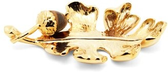 AERIN Oak Leaf Ornament - Gold