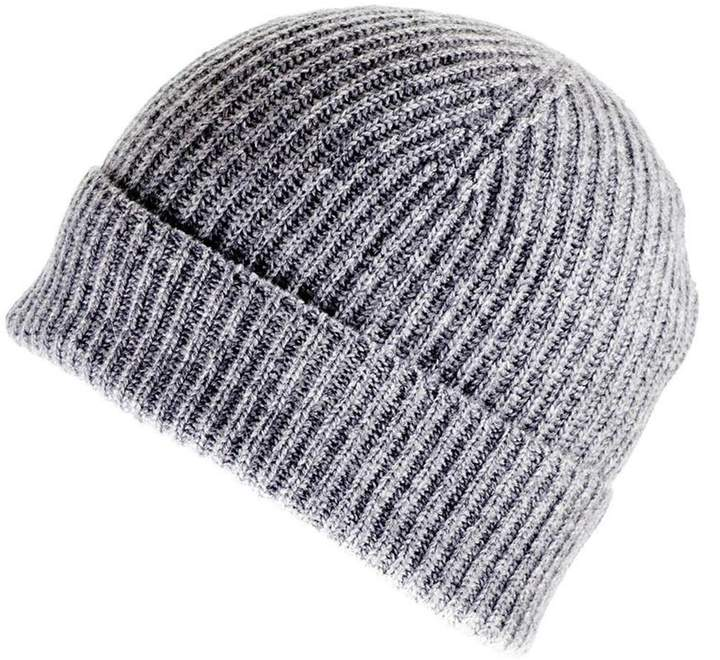 b4b724b8a Light Grey Cashmere Beanie Hat