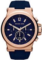 MICHAEL Michael Kors Men's Michael Kors 'Dylan' Chronograph Silicone Strap Watch, 48Mm
