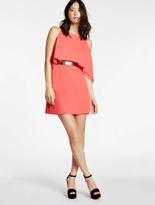 Halston Flowy Belted Dress