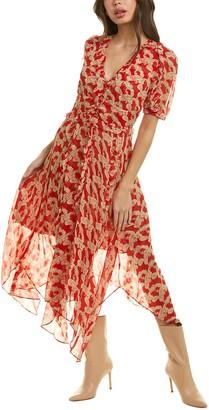 The Kooples Volute Mid Dress