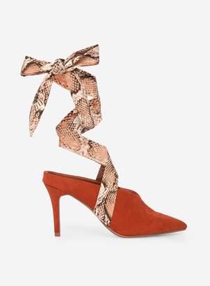 Dorothy Perkins Womens Rust 'Estelle' Court Shoes