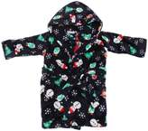 Universal Textiles Baby Unisex Supersoft Hooded Christmas Dressing Gown/Bath Robe