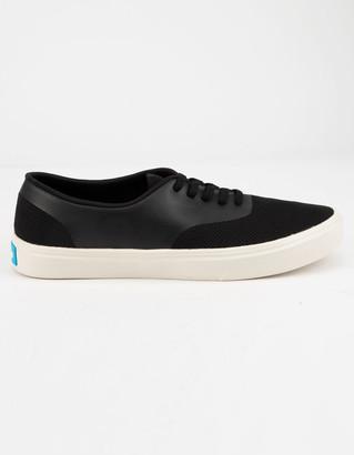 People Footwear Stanley Really Black & Picket White Mens Shoes
