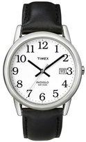 Timex Men's Easy Reader Black Strap Watch