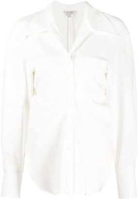 Low Classic Flared Long-Sleeve Shirt
