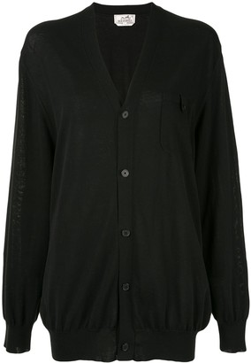 Hermes Pre-Owned Long Sleeve Cardigan