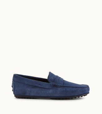 Tod's City Gommino Driving Shoes in Suede