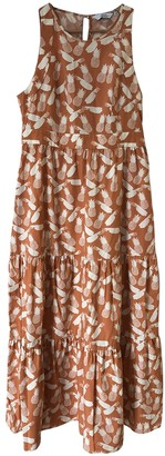 And other stories & Stories Orange Cotton Dress for Women