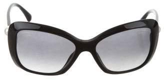 Chanel Square Pearl Sunglasses