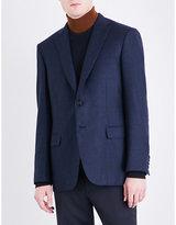 Brioni Hopsack-weave regular-fit wool jacket