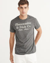 Abercrombie & Fitch Printed Logo Graphic Tee