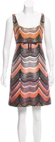 Giambattista Valli Sleeveless Brocade Mini Dress