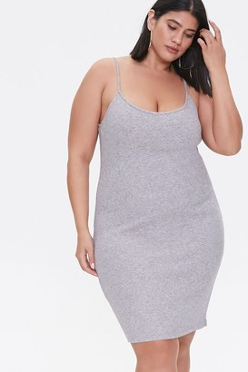 Forever 21 Plus Size Ribbed Cami Dress