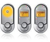 Motorola Digital Audio Baby Monitor Including Two Parent Units with LCD Display