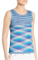 Missoni Striped Knit Shell