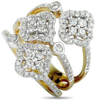 Diamond Select Cuts 14K Two-Tone 1.00 Ct. Tw. Diamond Ring