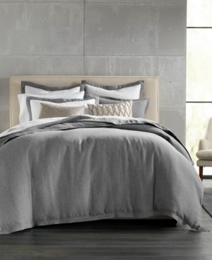 Hotel Collection Linen Full/Queen Duvet Cover, Created for Macy's Bedding