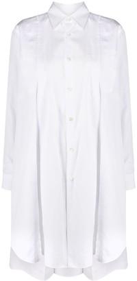 Comme des Garçons Comme des Garçons Long-Sleeved Layered Shirt