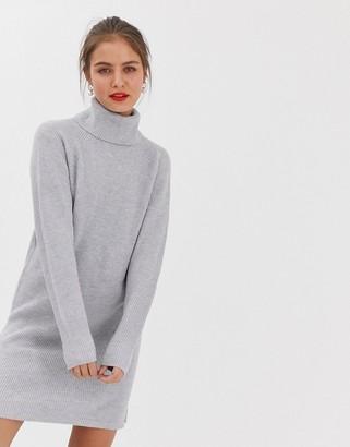 Vila rollneck jumper dress