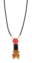 Marni Resin Tie Necklace