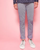 Ted Baker Slim fit textured chinos